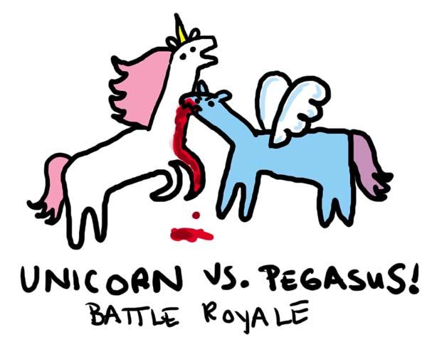 Unicorn vs Pegasus