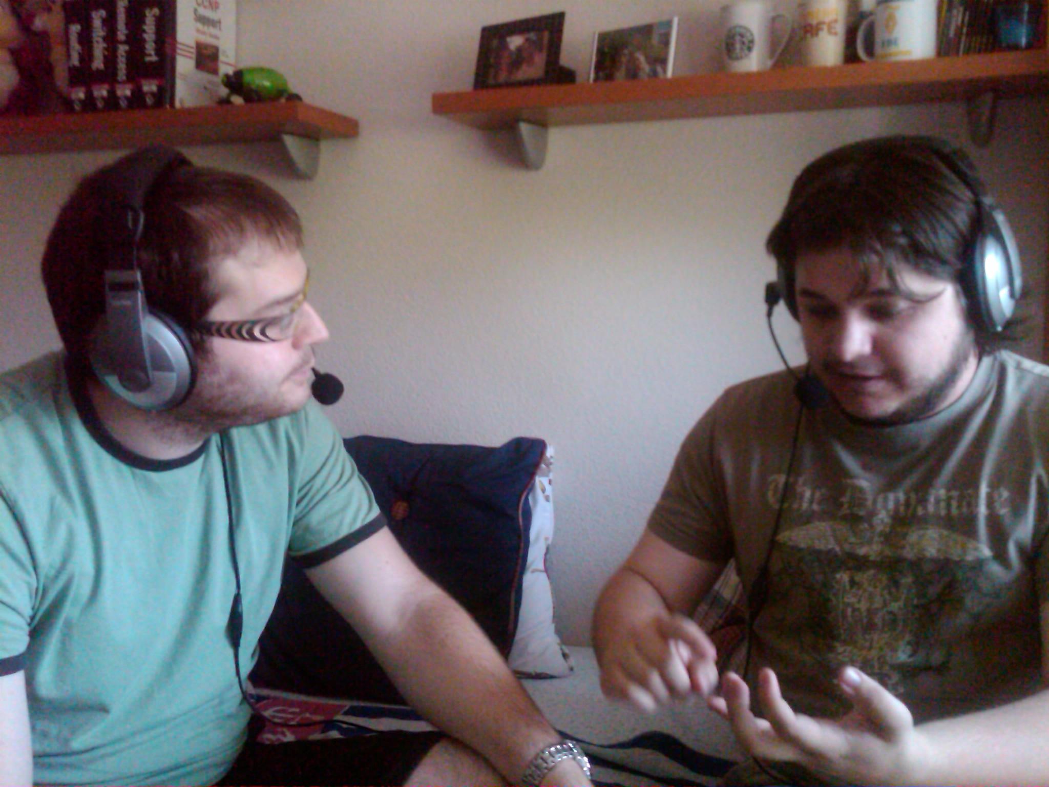Durante la grabación de este podcast