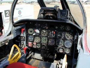 F-86 Sabre cabina
